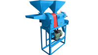 Corn Hulling and Grinding Machine